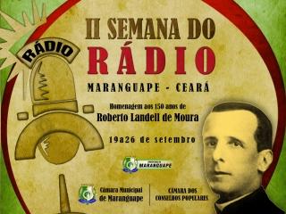 Segunda Semana do Rádio de Maranguape conta com programação diversificada